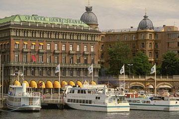 La banque de Suède, Stockholm, Suède